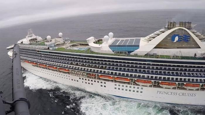 Tàu Grand Princess là một trong những tàu du lịch lớn nhất thế giới.