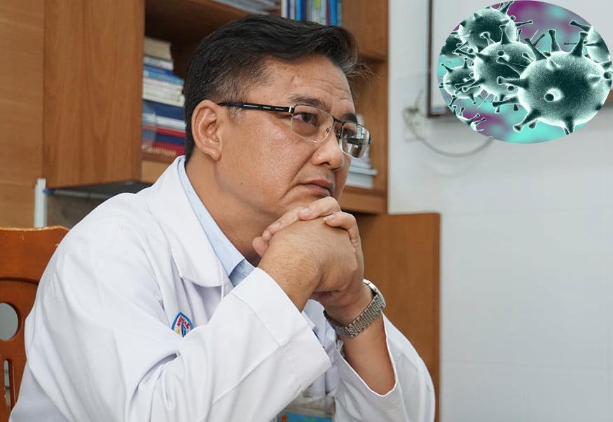 TS.BS Lê Quốc Hùng - Trưởng khoa Bệnh Nhiệt đới, Bệnh viện Chợ Rẫy (TPHCM) - người trực tiếp điều trị thành công cho hai cha con người Trung Quốc mắc COVID-19
