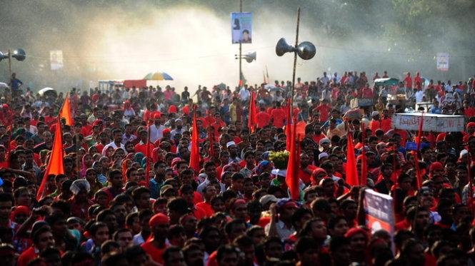 Tại Bangladesh ghi nhận hàng trăm cuộc biểu tình của công nhân may.