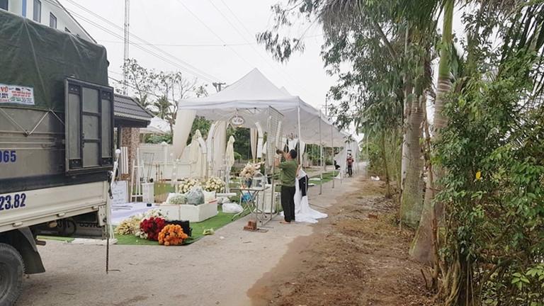 Đám cưới của cô dâu ở Hải Phòng bị hoãn do cô dâu phải đi cách ly vì đi cùng chuyến bay với bệnh nhân số 17 nhiễm Covid 19. Ảnh từ Internet