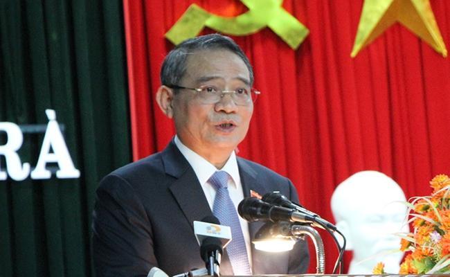 Ông Trương Quang Nghĩa hiện đang tự cách ly theo quy trình của Bộ Y tế