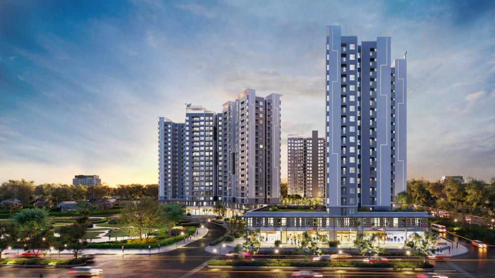 Đối diện UBND Bình Chánh là quỹ đất hiếm hoi dành để phát triển căn hộ Westgate