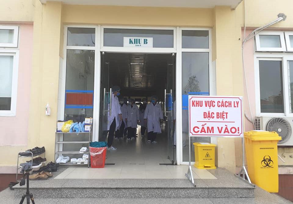 Khu vực cách ly người nghi nhiễm Covid- 19 ở Nghệ An