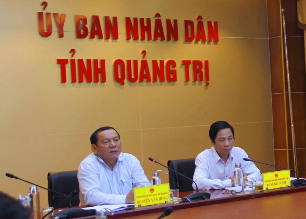 Ông Nguyễn Văn Hùng - Bí thư Tỉnh ủy Quảng Trị  khảng định nếu có sự việc