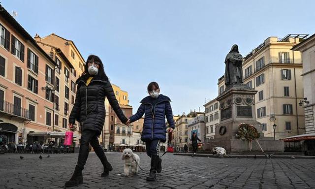 Nước Ý hiện đang là tâm điểm bùng phát dịch bệnh với số ca nhiễm tăng vọt mỗi ngày.