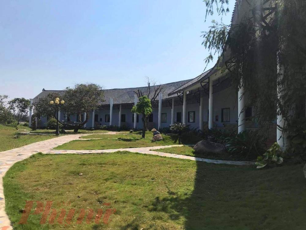 Một góc khu cách ly 14 du khách tại Khu D resort Sun&Sea
