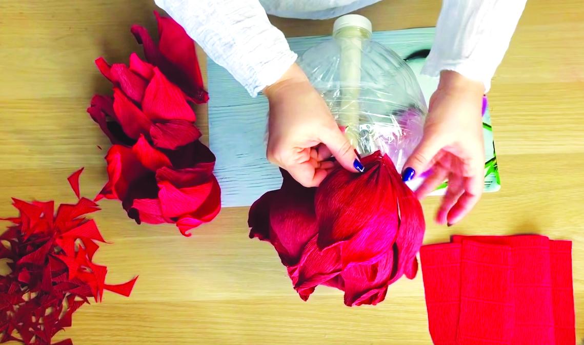 Clip dạy làm hoa handmade, cắm hoa trên Youtube