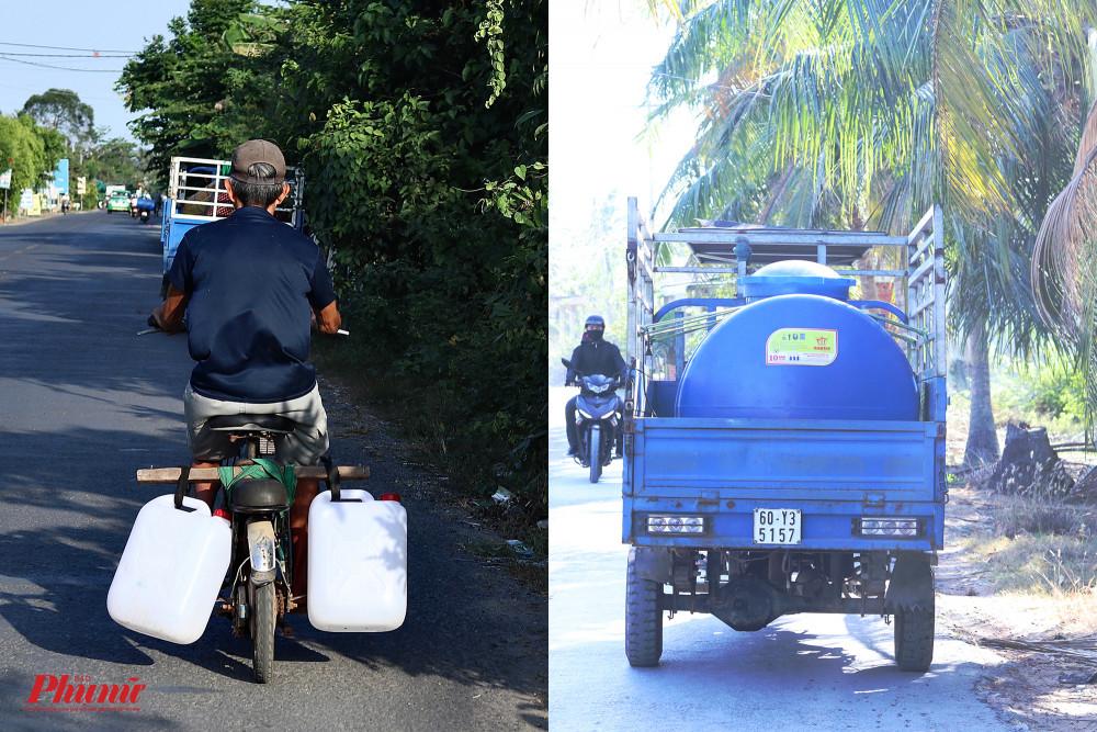 Một số địa phương tại các tỉnh miền Tây đang thiếu nước sinh hoạt trầm trọng.