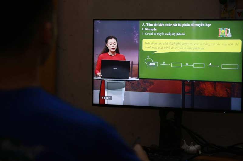 Có thể Hà Nội sẽ tiếp tục xây dựng bài giảng để triển khai dạy học trên truyền hình đối với học sinh các khối lớp khác