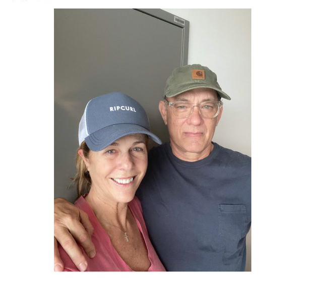 Vợ chồng Tom Hanks hiện đã được cách ly để điều trị