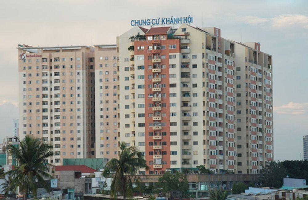 UBND TP giao UBND quận 4 kiểm tra, xử lý vi phạm tại chung cư Khánh Hội 1