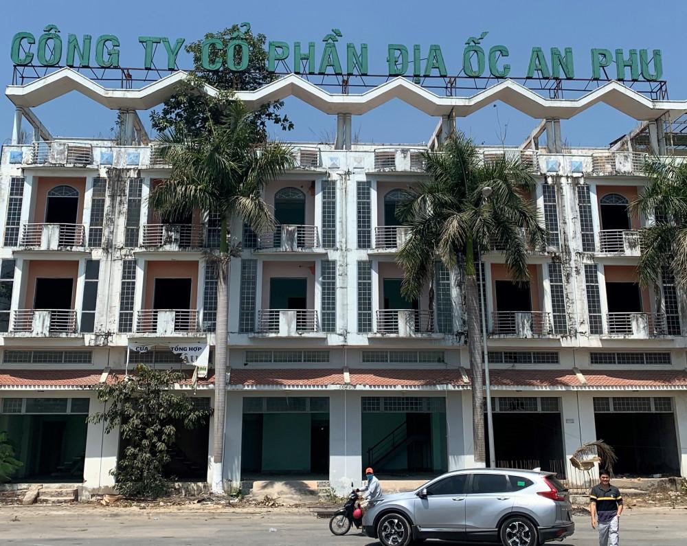 Trụ sở Công ty Mộc Bài ở Tây Ninh hiện chỉ còn là khu nhà bỏ hoang