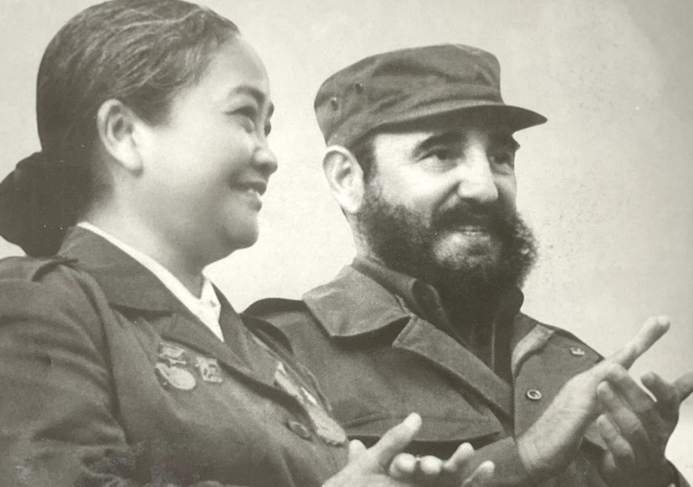 Nữ tướng bên vị lãnh đạo Nước cộng hòa Cuba Phidel Castro