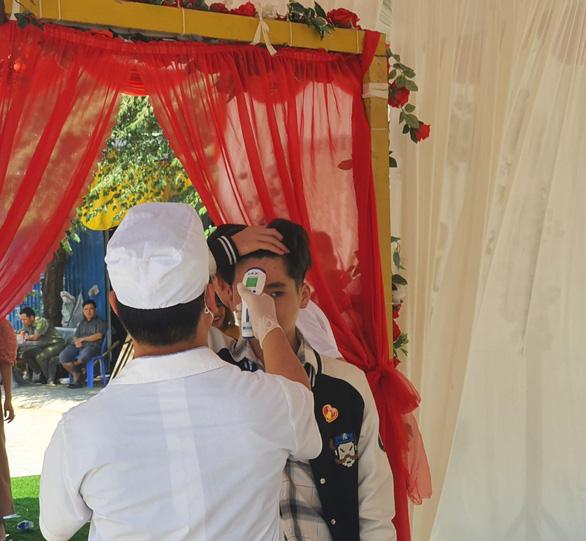 Đám cưới tại Bàu Bàng, Bình Dương vẫn diễn ra trong mối lo sợ về dịch bệnh