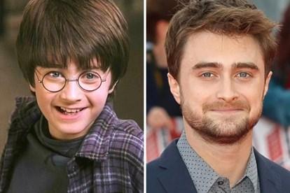 Harry Potter ngày ấy và bây giờ.