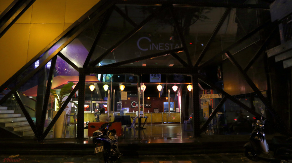Rạp Cinestar trên đường Hai Bà Trưng ngừng hoạt động từ 18g ngày 14/3.