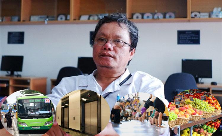 Bác sĩ Trương Hữu Khanh tư vấn cách bảo vệ sức khỏe trong mùa dịch COVID-19 ở nơi đông người