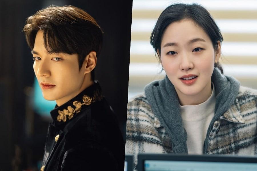Lee Min Ho đóng cặp cùng Kim Go Eun trong The King: Eternal Monarch.