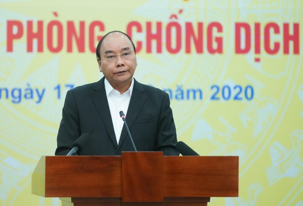 Thủ tướng Nguyễn Xuân Phúc phát biểu tại buổi phát động.