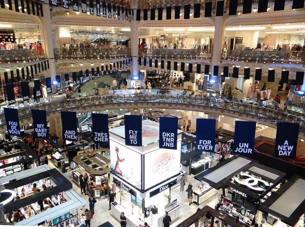 Các trung tâm thương mại, mua sắm lớn tại Pháp tạm ngưng hoạt động do dịch COVID-19.