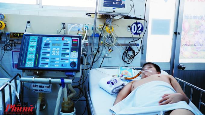 Bệnh nhi tại BV Nhi đồng 1, TP.HCM