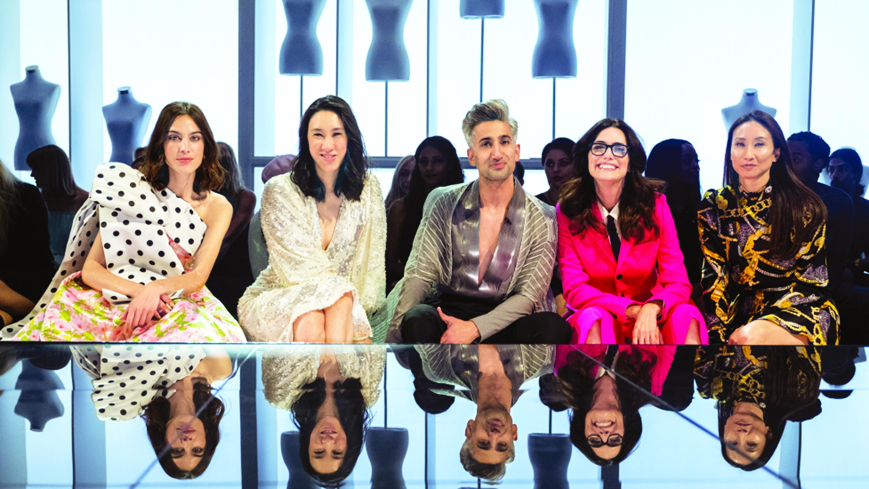 Ban giám khảo của chương trình Next in fashion - Ảnh: Netflix