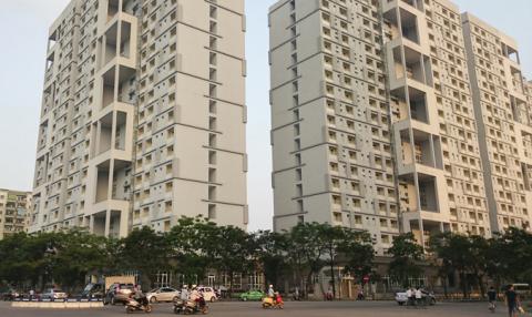 3 tòa nhà 21 tầng được sử dụng làm khu cách ly tập trung.