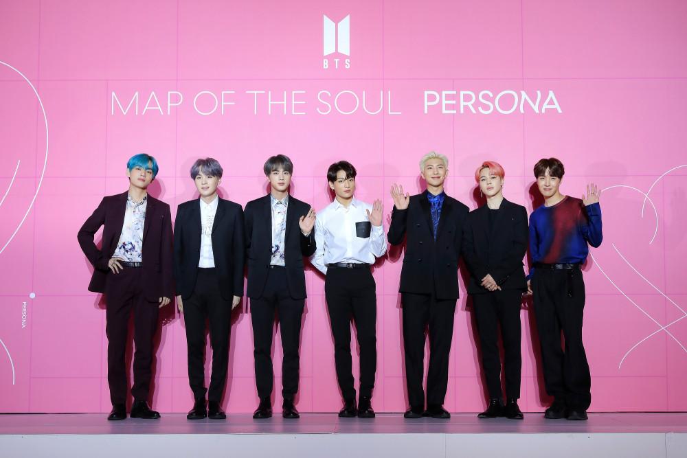 Map of the Soul: PERSONA của BTS loạt top album bán chạy nhất thế giới theo IFPI.