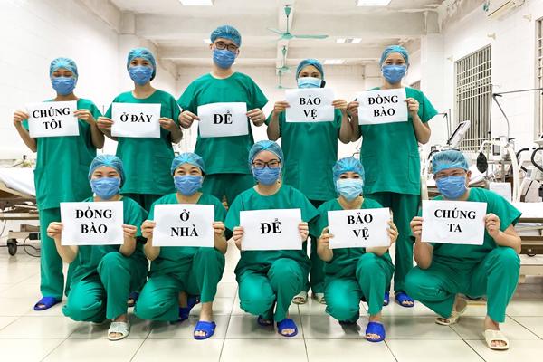 Hình ảnh các bác sĩ tại Bệnh viện số 2 Quảng Ninh