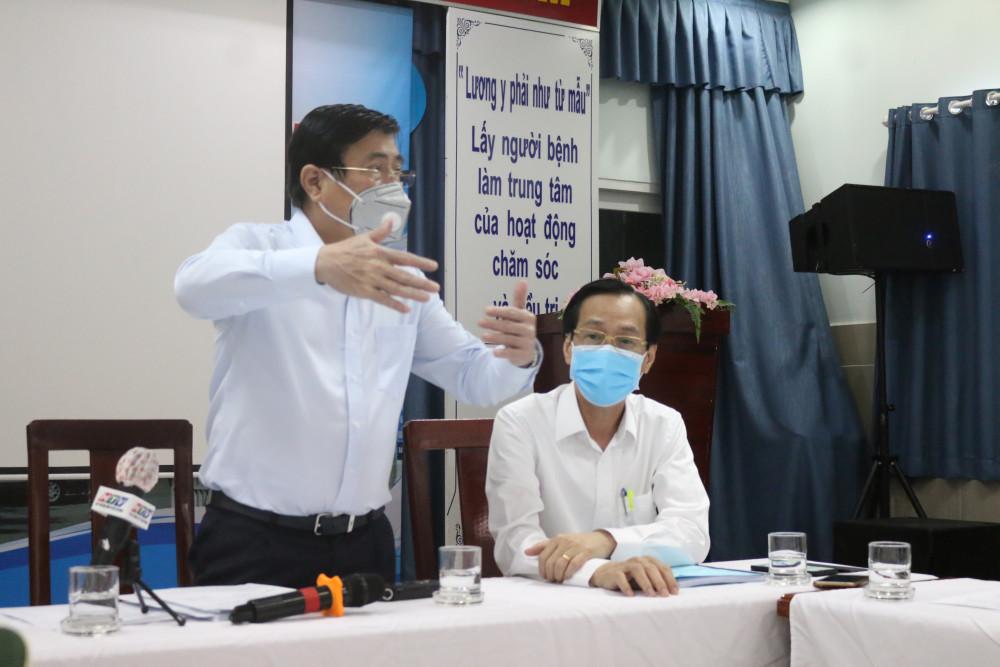 Chủ tịch UBND TPHCM Nguyễn Thành Phong dẫn đầu đoàn