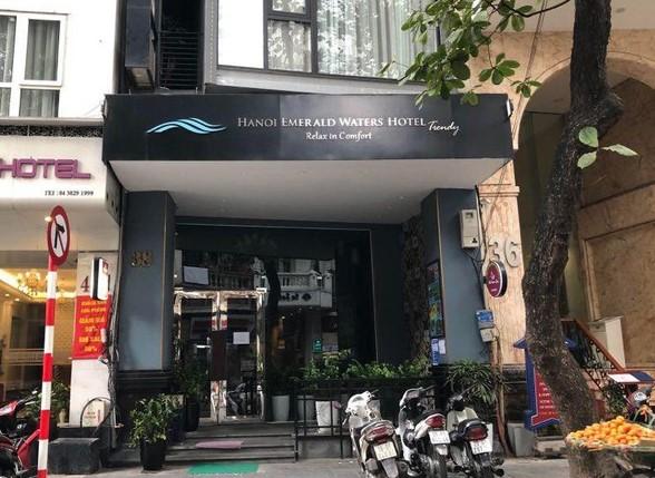 Một trong những khách sạn được sử dụng làm khu vực cách ly.