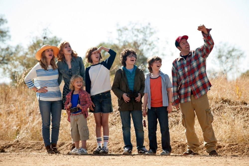 Hai gia đình Jim và Lauren trong chuyến du lịch đến châu Phi.