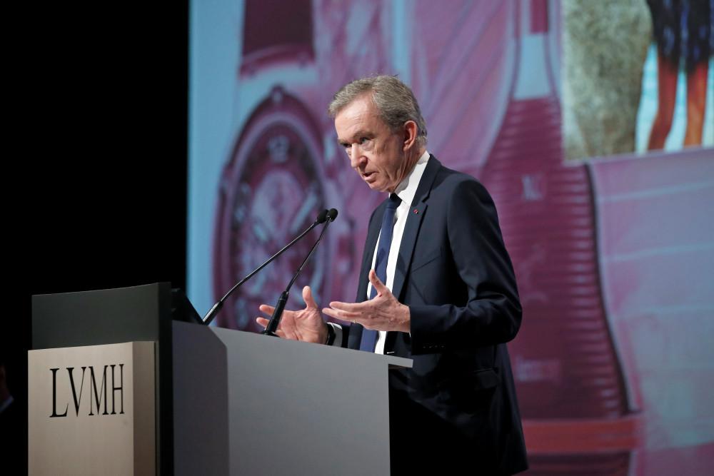 Ông Bernard Arnault. Ảnh: Reuters