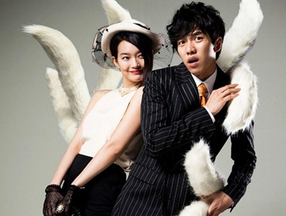 Lee Seung Gi (phải) nổi tiếng toàn châu Á sau bộ phim Bạn gái tôi là hồ ly