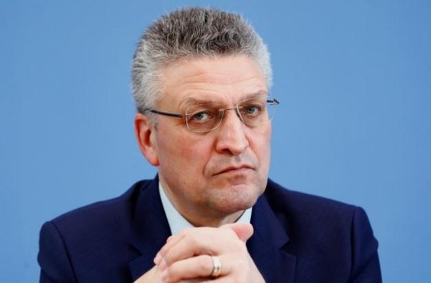 Ông Lothar Wieler bày tỏ sự tin tưởng tích cực về các biện pháp mà Đức đang thực hiện để phòng dịch.