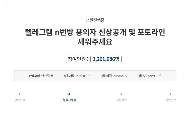 Gần 2,3 triệu người dân ký vào đơn thỉnh nguyện trực tuyến yêu cầu chính phủ trừng trị nghiêm khắc thủ phạm.