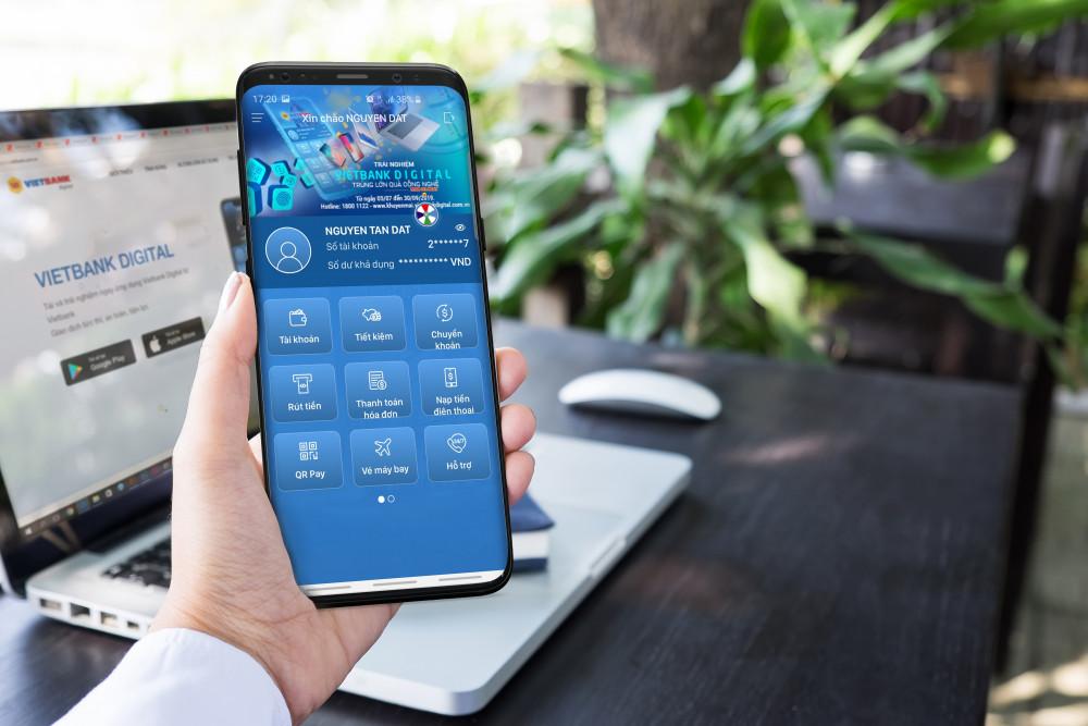 Vietbank Digital miễn giảm các loại phí