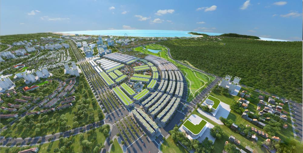 Kỳ Co Gateway sở hữu vị trí vàng, với tầm nhìn ngắm biển trên đảo xanh hấp dẫn khách hàng