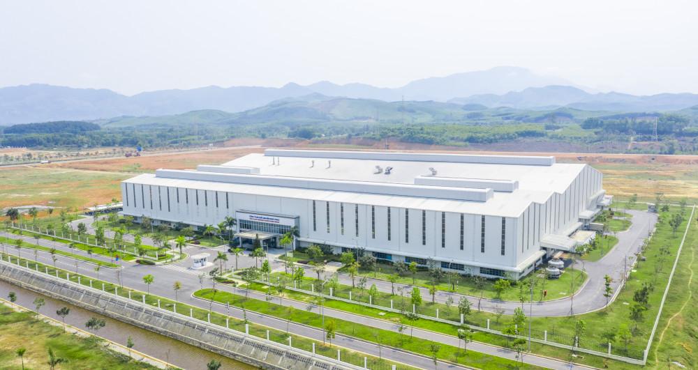 Nhà máy sản xuất linh kiện nhựa THACO
