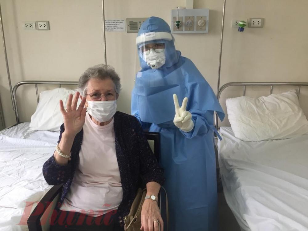 Sức khỏe các du khách điều trị taik Khu cách ly cơ sở 2 Bệnh viện Trung ương Huế  hiện rất khả quan