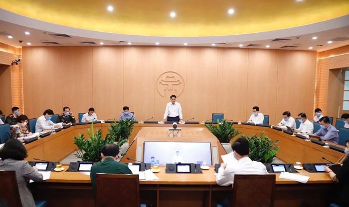 Ban chỉ đạo phòng, chống dịch COVID-19 TP. Hà Nội.