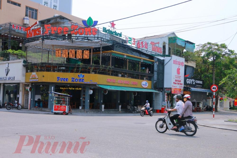 Nhiều quán cà phê, nhà hàng trên tuyến phố Nguyễn Thái Học TP. Huế đã đóng cửa hơn một tuần nay