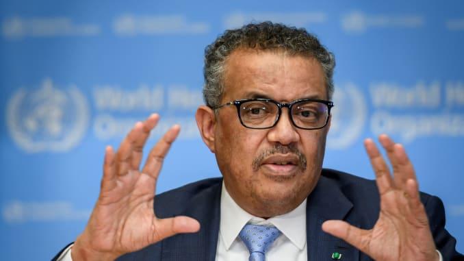 Tổng giám đốc WHO Tedros Adhanom Ghebreyesus nói các quốc gia cần tận dụng thời gian phong tỏa để tấn công COVID-19, chứ không buông tay chờ đợi sự trợ giúp từ bên ngoài - Ảnh: Getty Images