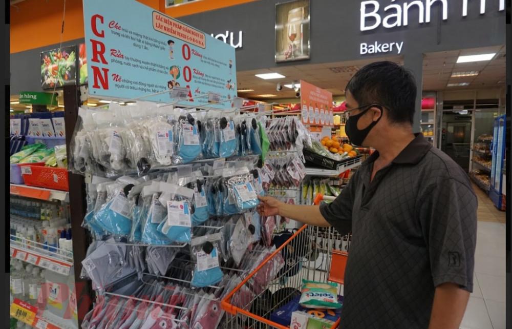 Hiện việc thanh toán không tiền mặt chỉ phổ biến tại các hệ thống siêu thị