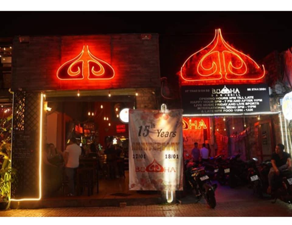 Quán bar Buddha quận 2, TP.HCM