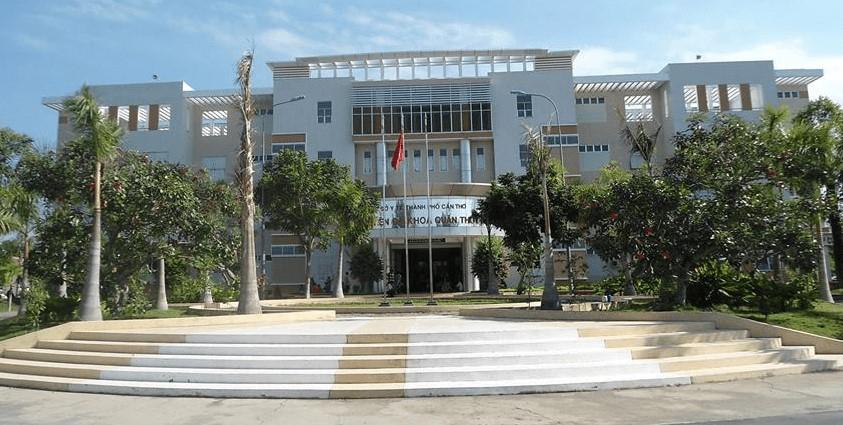 Bệnh viện đa khoa quận Thốt Nốt, nơi xảy ra vụ việc nhân viên chiếm đoạt tiền tạm ứng của bệnh nhân