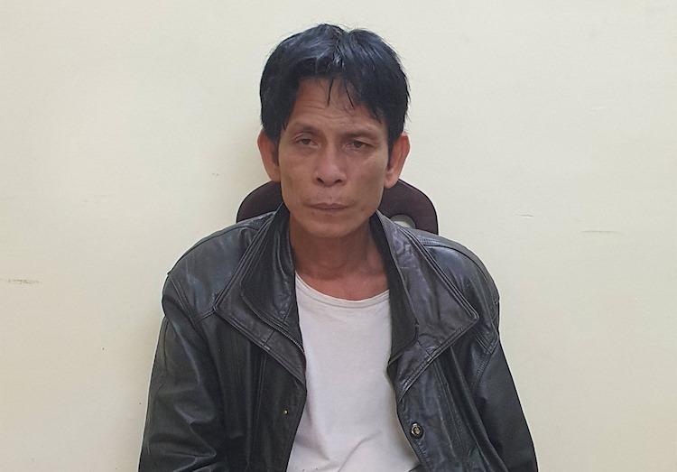 Bùi Văn Định tại cơ quan công an
