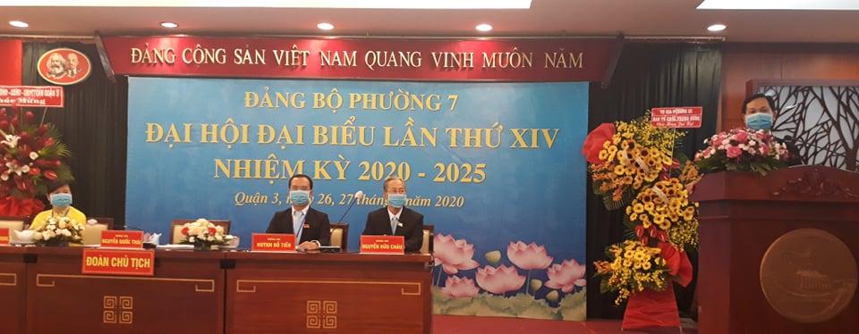 Ông Nguyễn Quốc Thái được bầu giữ chức Bí thư Đảng ủy P.7, Q.3