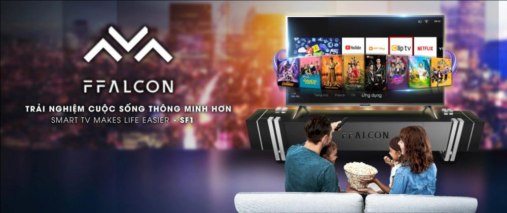 Smart TV SF1 - Trải nghiệm cuộc sống thông minh hơn