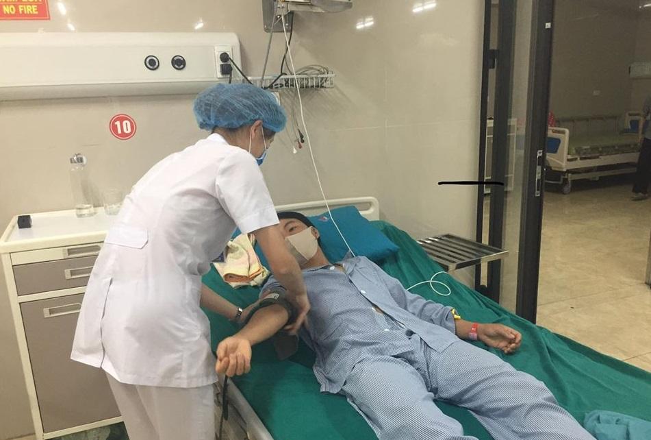 Bệnh nhân Lương Chính C. nhập viện do ăn bánh nếp nhân trứng kiến ngạt